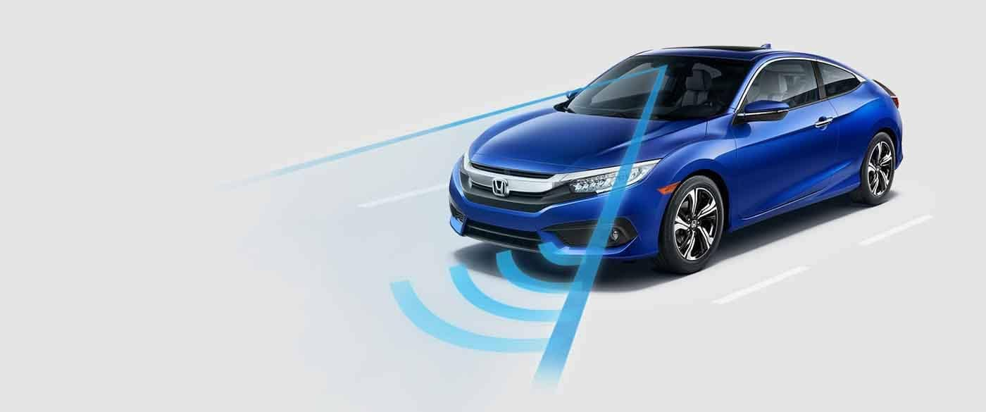 2018 Honda Civic Coupe Honda Sensing