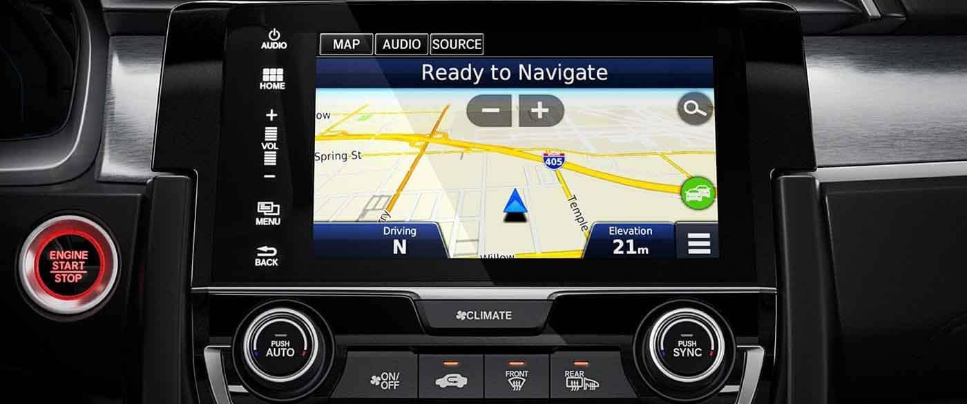 2018 Honda Civic Coupe Navigation