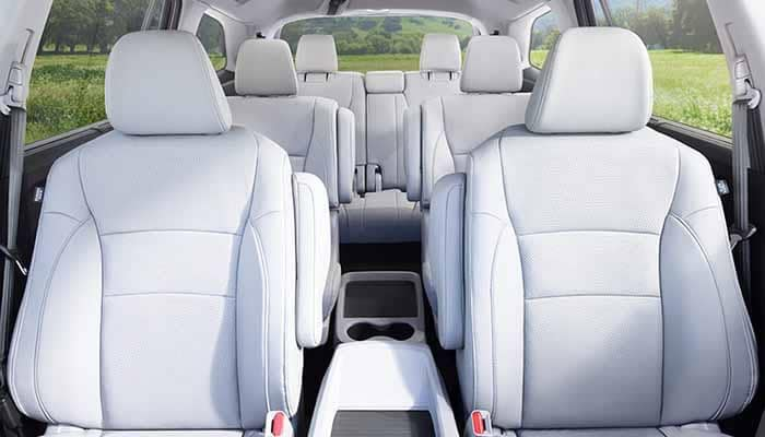 2018 Honda Pilot Seating