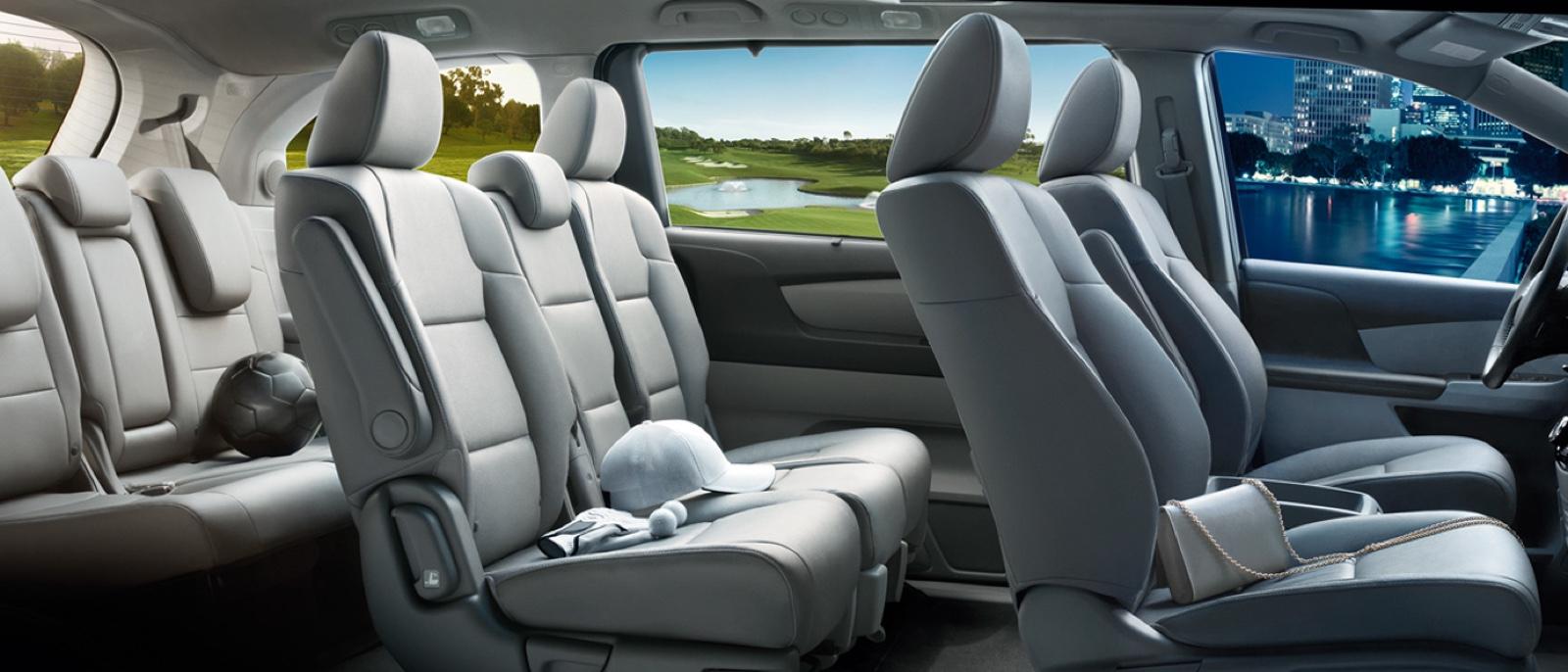 The 2016 Honda Odyssey Interior Space Vs Other Minivans