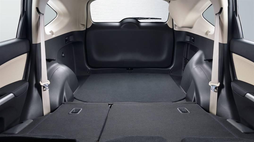Honda crv storage capacity