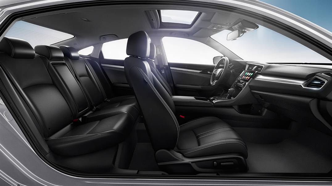 "2016 Honda Civic Interior Space Specs Redefine ""Small Car"""