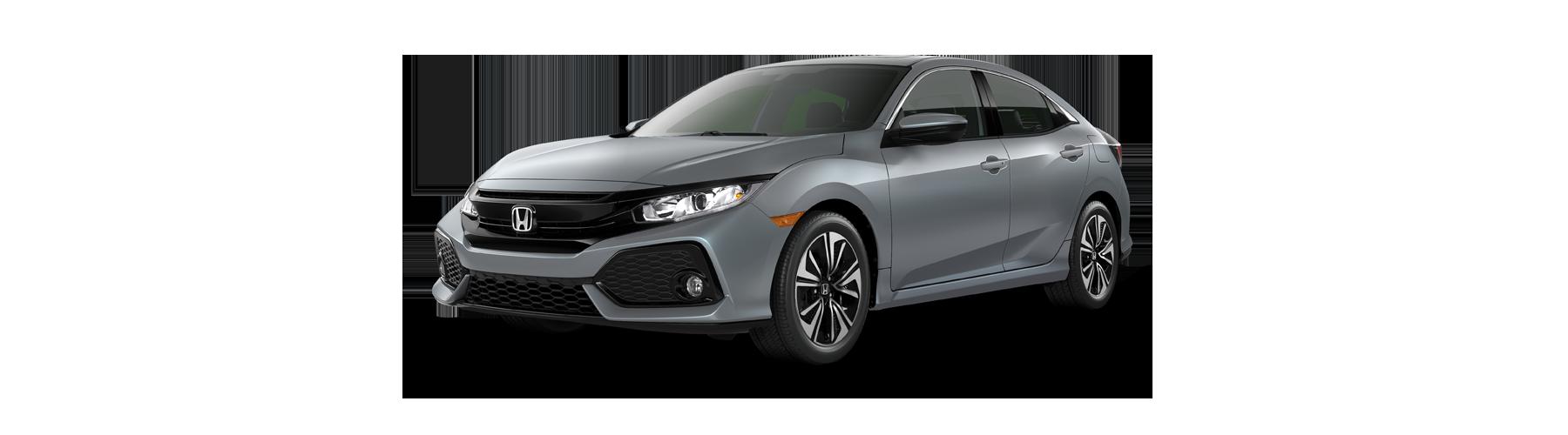 2017 Honda Civic Hatchback Front Angle