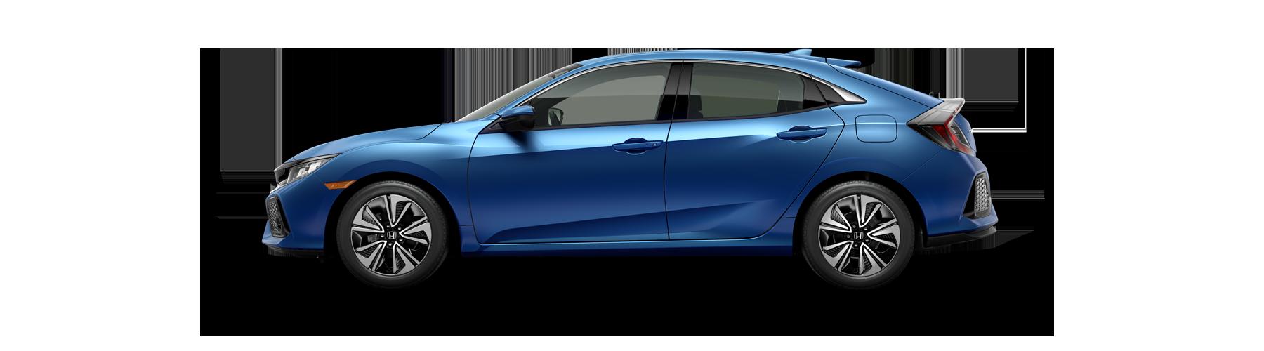 2017 Honda Civic Hatchback Side Profile