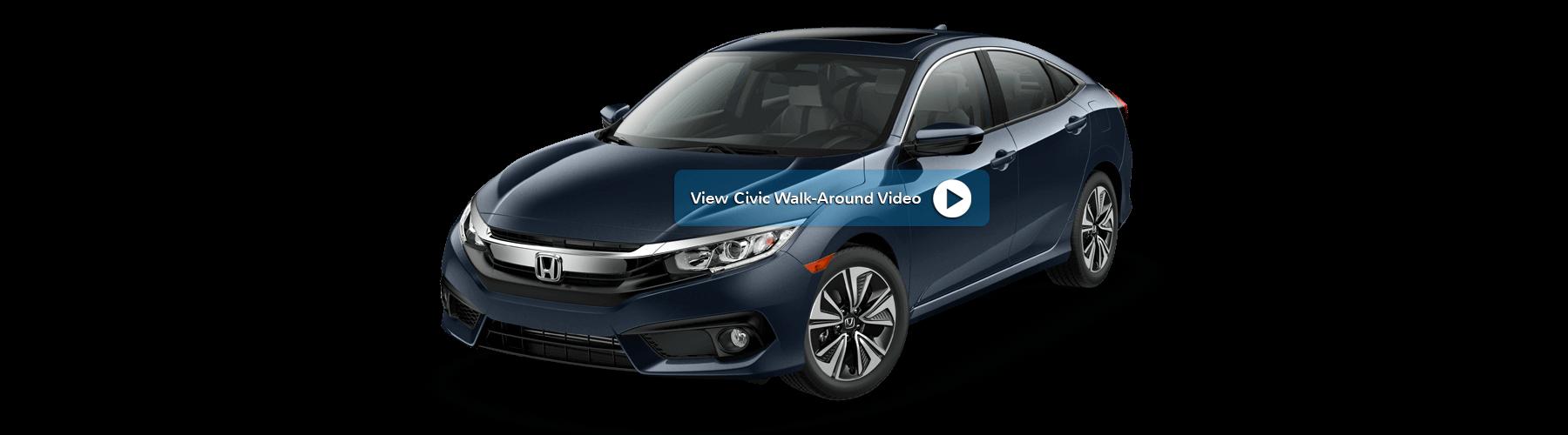 2017 Honda Civic Sedan Front Angle