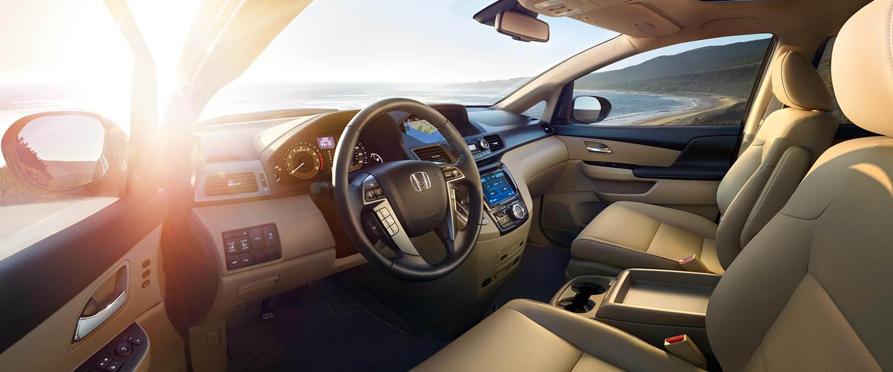 2017 Honda Odyssey Front Interior
