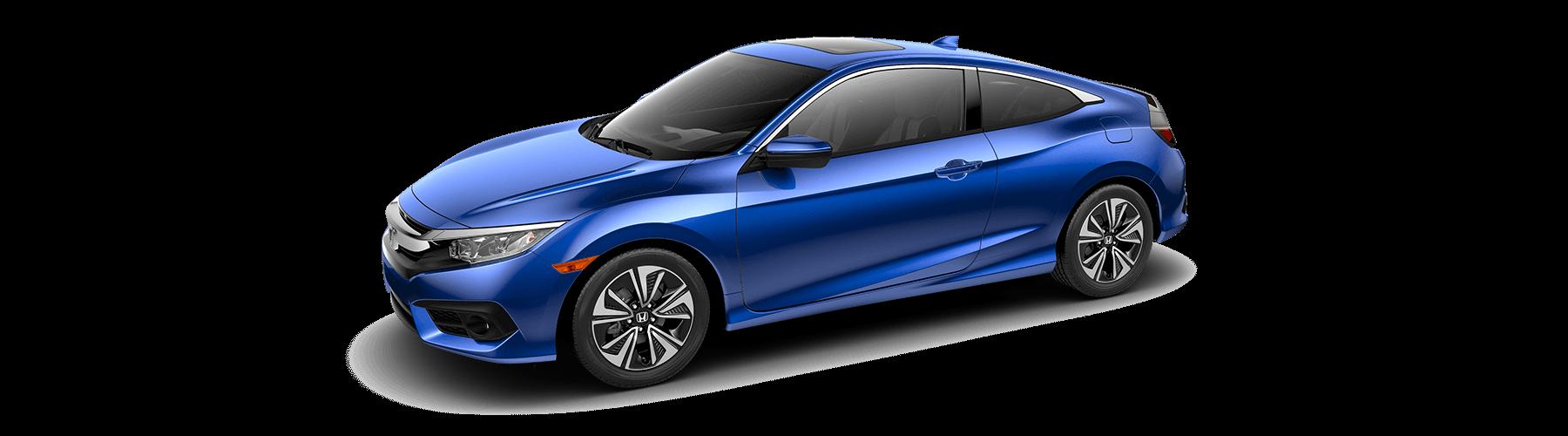 2017 Honda Civic Coupe Front Angle