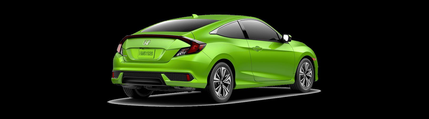 2017 Honda Civic Coupe Rear Angle