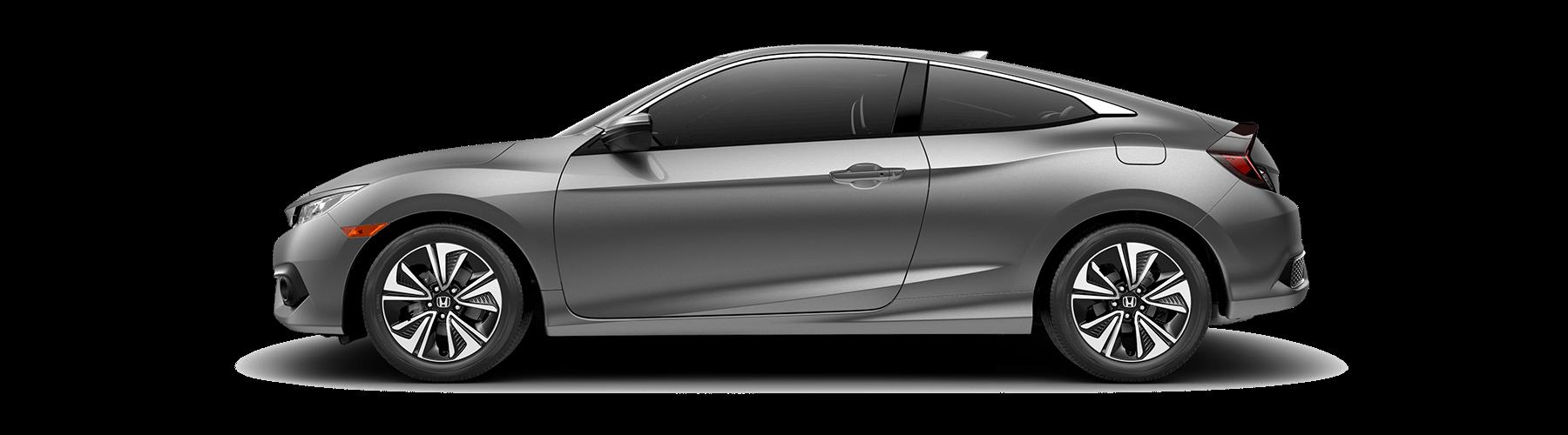 2017 Honda Civic Coupe Side Profile