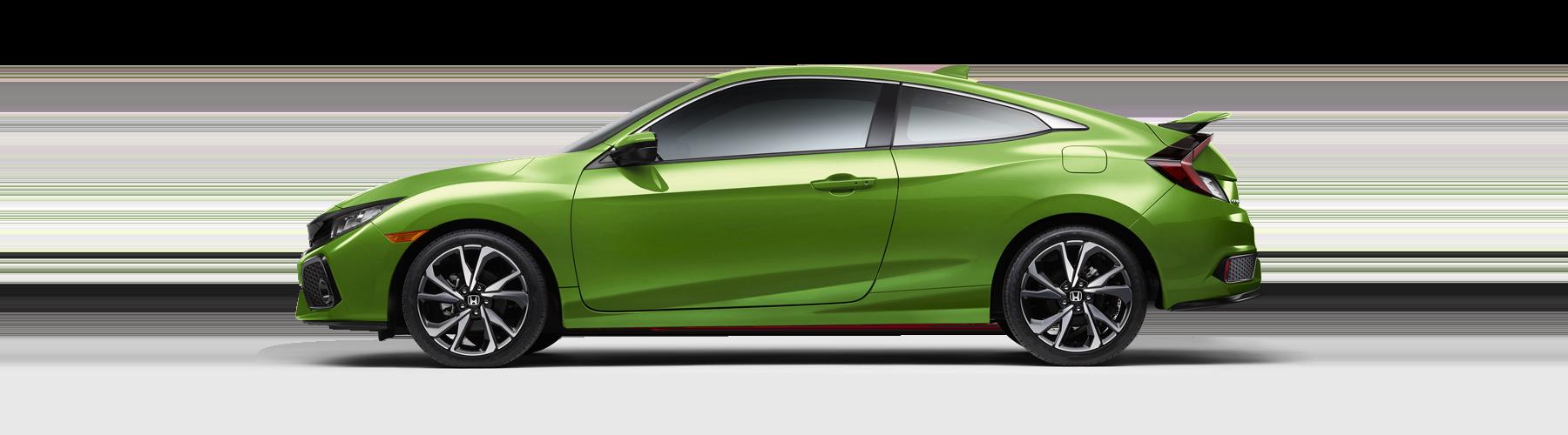 2017 Honda Civic Si Coupe Side Profile