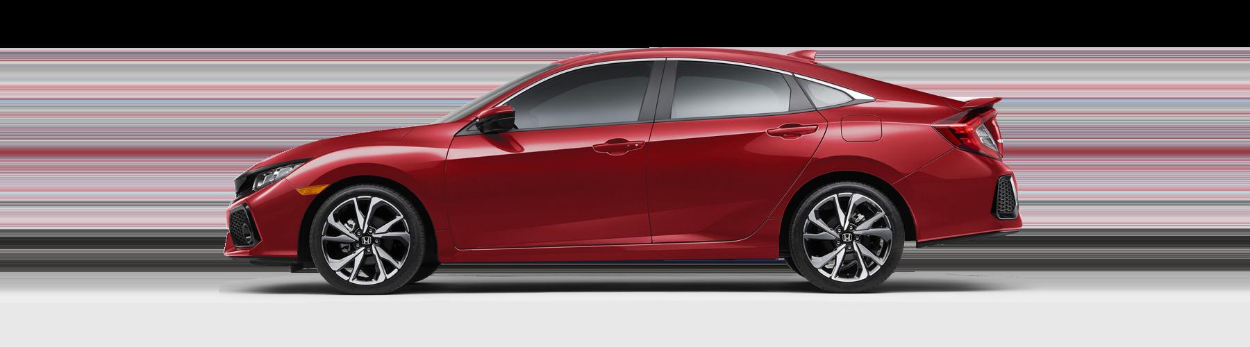 2017 Honda Civic Si Sedan Side Profile