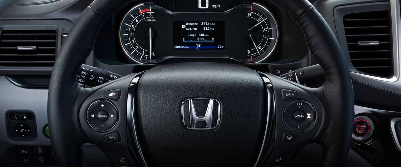 honda ridgeline steering wheel
