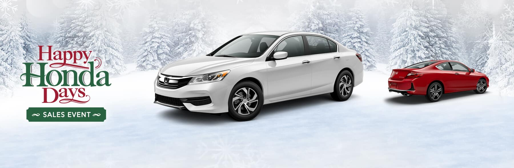 Happy Honda Days Sales Event Accord Banner