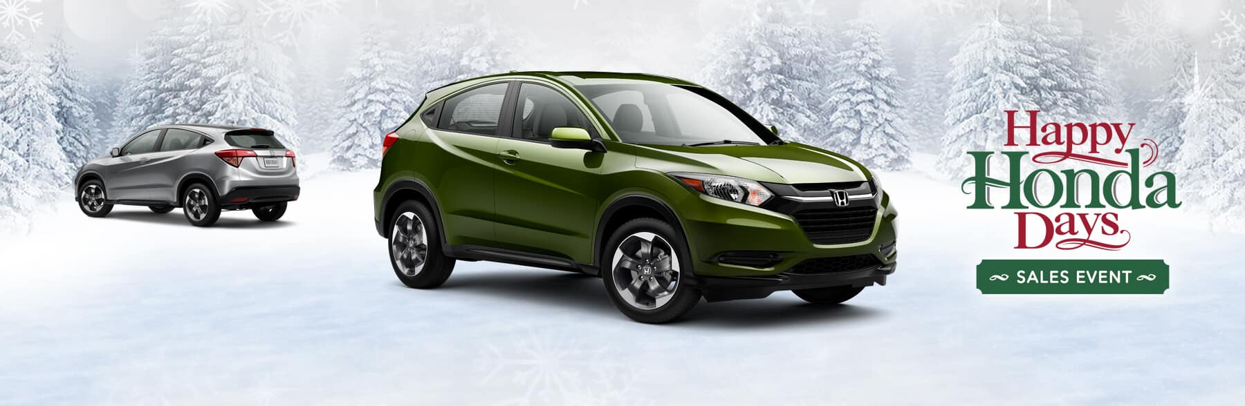Happy Honda Days HR-V Banner