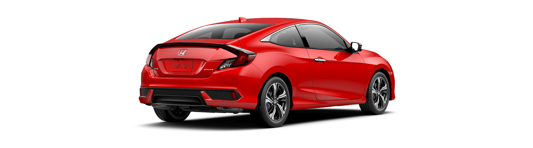 2018 Honda Civic Coupe Rear Angle