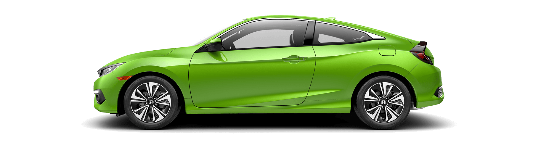 2018 Honda Civic Coupe Side Profile