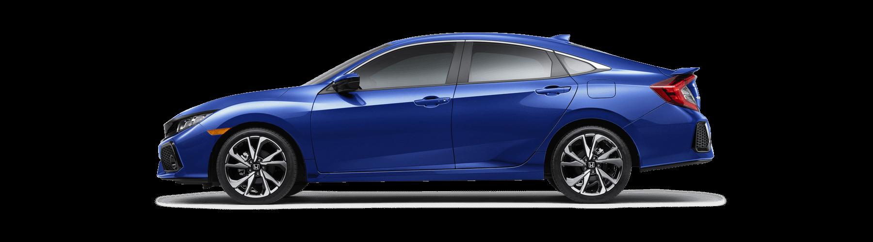 2018 Honda Civic Si Sedan Side Profile