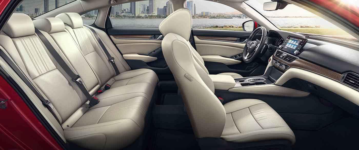 2018 Honda Accord Sedan Leather Trimmed Seating