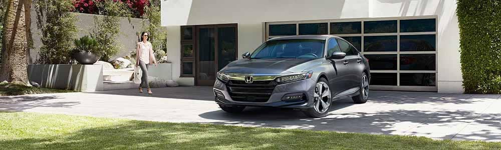2018 Honda Accord outside home
