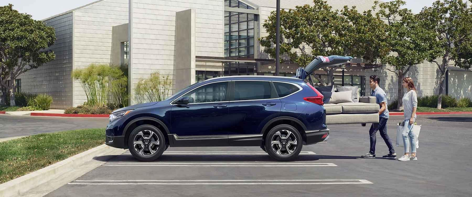 2019 Honda CR-V Cargo Area holding a couch