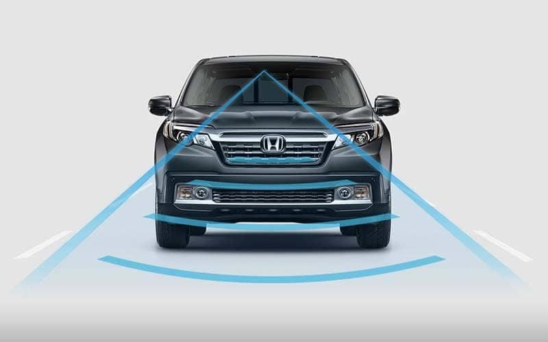 2019 Honda Ridgeline Collision Mitigation System