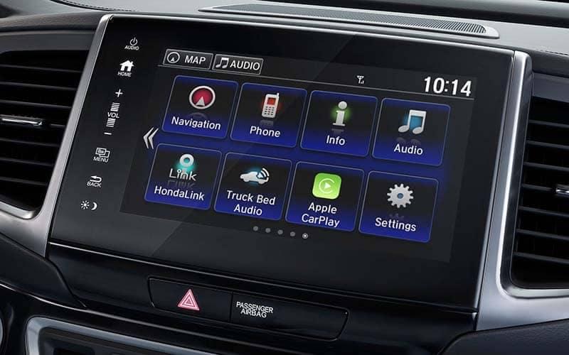 2019 Honda Ridgeline Display Screen with Streaming Audio