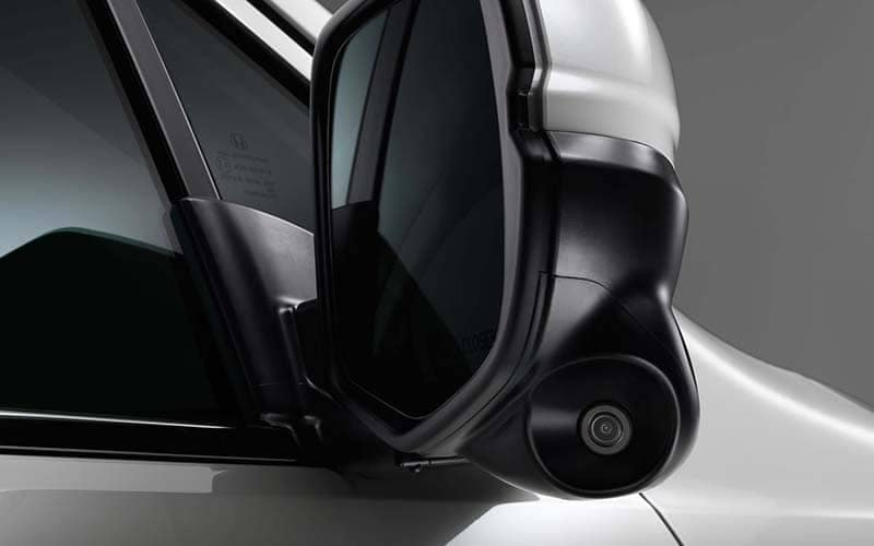 2019 Honda Ridgeline Lanewatch Camera on Side Mirror
