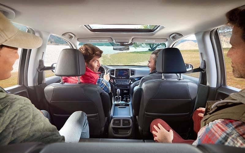 2019 Honda Ridgeline with 4 Guys Driving