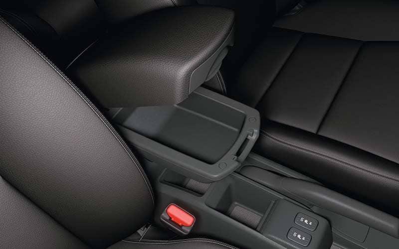 2019 Honda Fit Armrest Compartment Storage