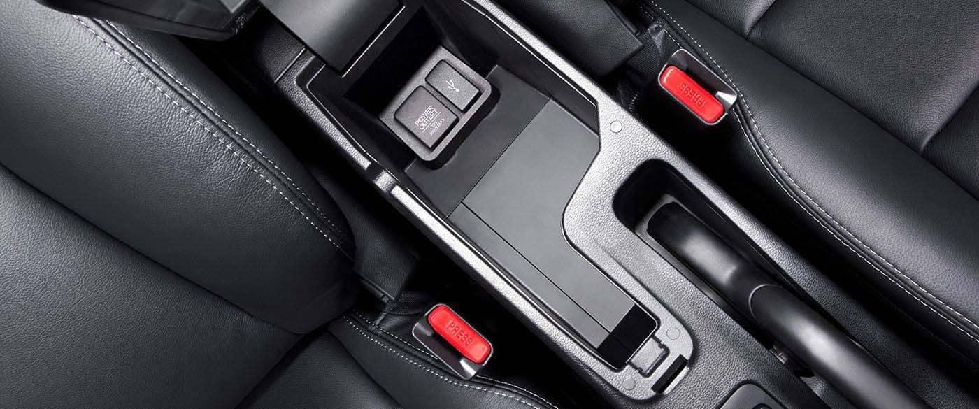 2019 Honda Fit Center Console Storage