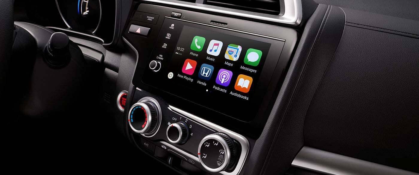 2019 Honda Fit Apple Carplay
