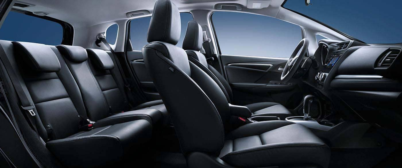 2019 Honda Fit Leather Trimmed Seating
