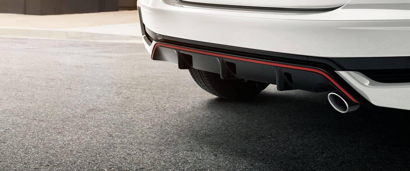 2019 Honda Fit Sport Rear Diffuser Rear End