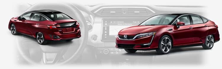 2017 Honda Clarity Fuel Cell Awards