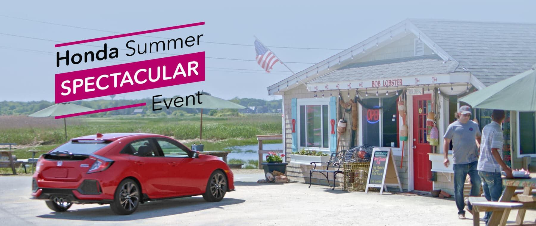 New England Honda Summer Spectacular Event