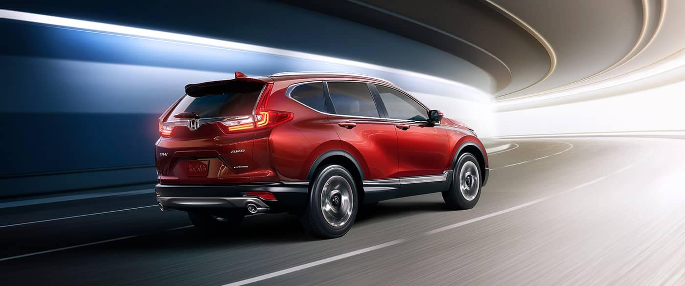 2018 Honda CR-V Driving on Highway Through Underground Tunnel