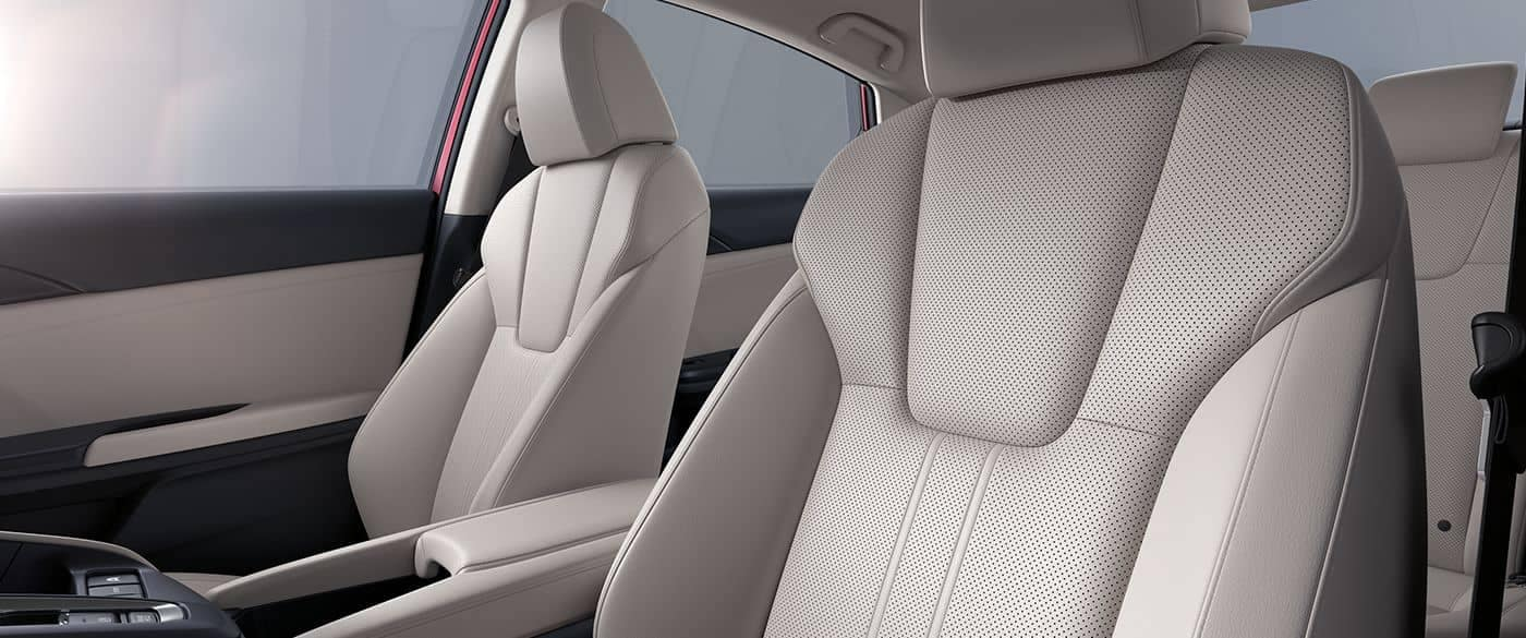 2019 Honda Insight Interior Leather Seating
