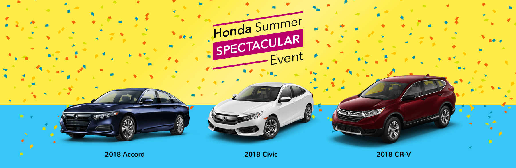 2018 Honda Summer Spectacular Event Slider