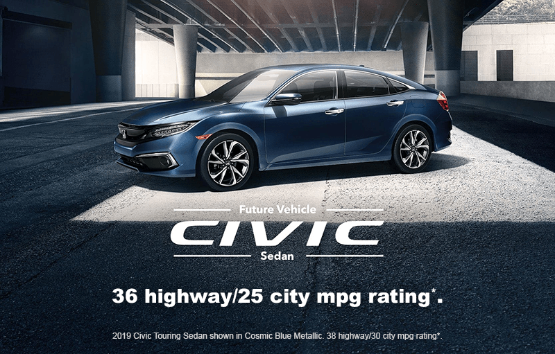 2019 Honda Civic Sedan MPG Details
