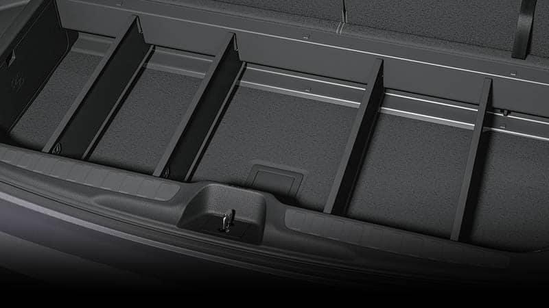 2019 Honda Pilot Cargo Bin Divider