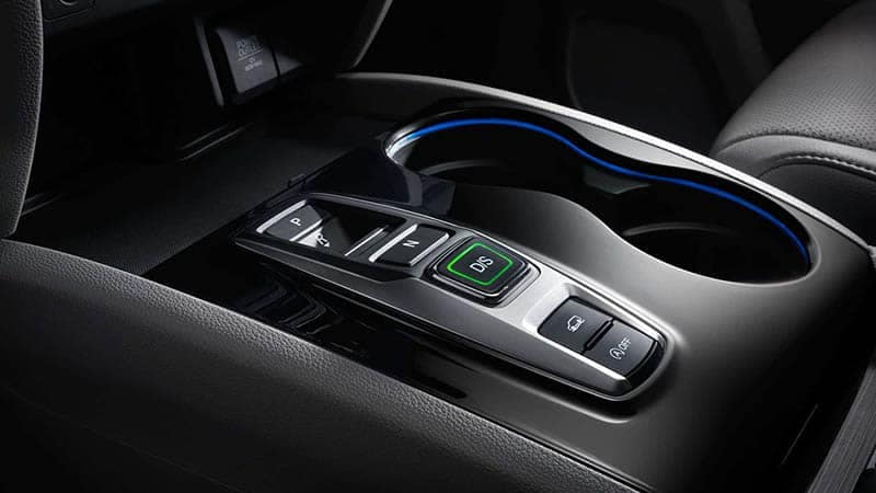 2019 Honda Pilot Shifter and Ambient Blue Light Cupholders
