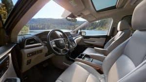 2019 Honda Odyssey Front Seating