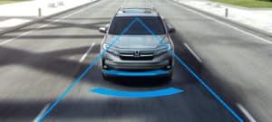 2019 Honda Pilot Collision Mitigation Braking System