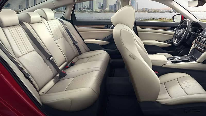 2019 Honda Accord Interior Seating