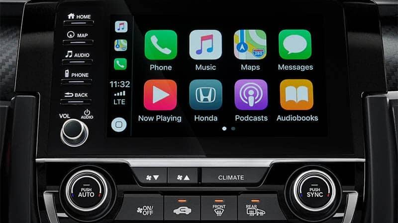 2019 Honda Civic Hatchback Apple Carplay