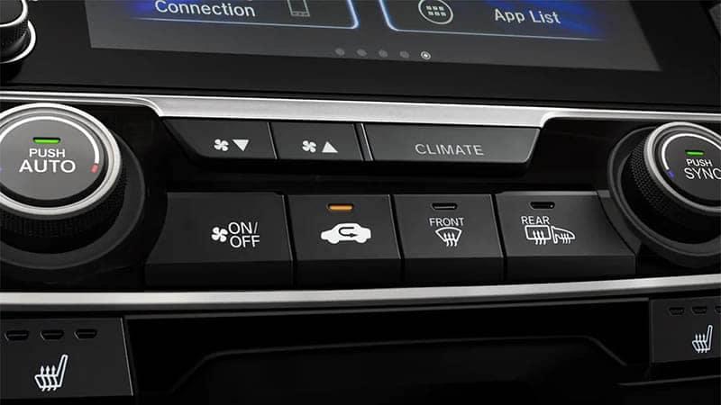 2019 Honda Civic Hatchback Automatic Climate Control