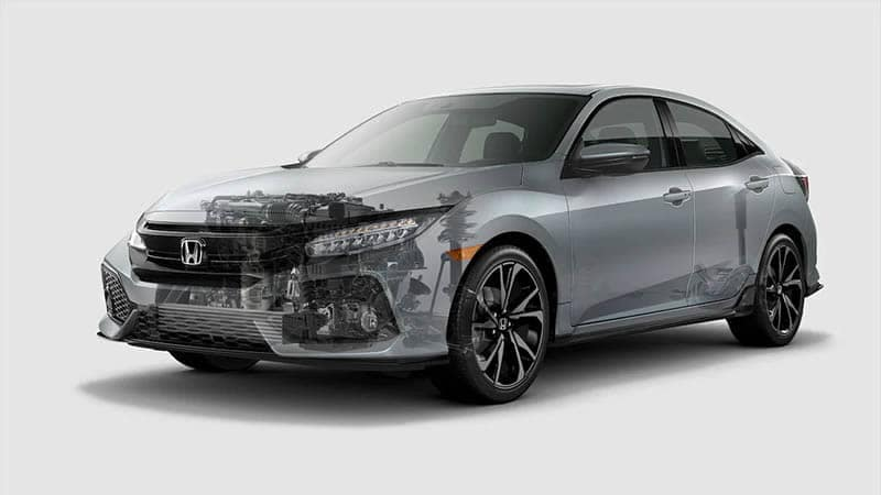 2019 Honda Civic Hatchback Engine and Body Structure