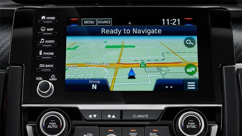 2019 Honda Civic Hatchback Navigation