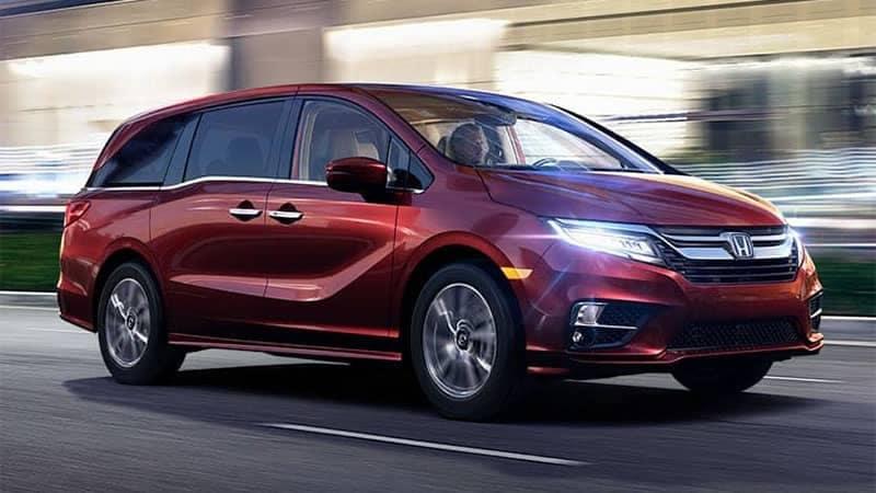 2019 Honda Odyssey Driving