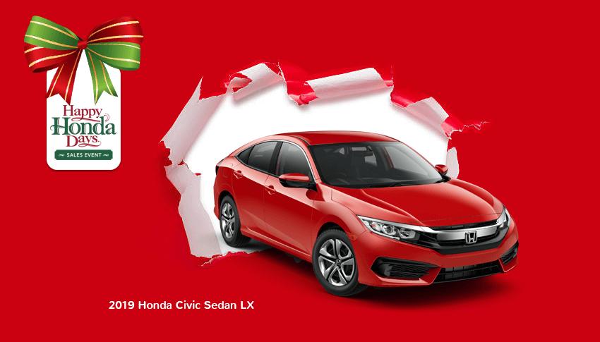 Happy Honda Days 2019 Civic Sedan